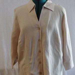 Avenue 3/4 sleeve blouse
